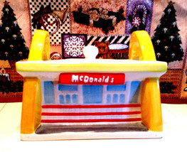 McDonald's Cookie Jar Golden Arches Treasure Craft Ceramic - $49.95
