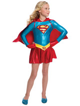 Rubie's 887657-M Costume Co Girls Dc Comics Supergirl Dress Costume, Medium - $64.26