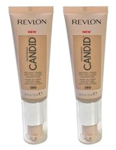 Lot of 2, Revlon PhotoReady Candid Anti-Pollution Foundation 260 Chai 0.... - $11.98