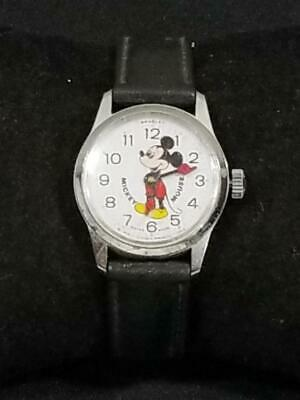 Primary image for Vintage Bradley Mickey Mouse Watch Swiss Made  PLEASE READ   FREE USA SHIP
