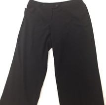 "Avenue Brand Sz 20 Plus Dress Pants Stretch Cuffed Trousers 30"" Inseam C... - $14.40"