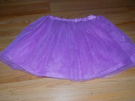 Girls Size Large Dollie & Me Solid Lilac Purple Tutu Tulle Skirt EUC - $14.00