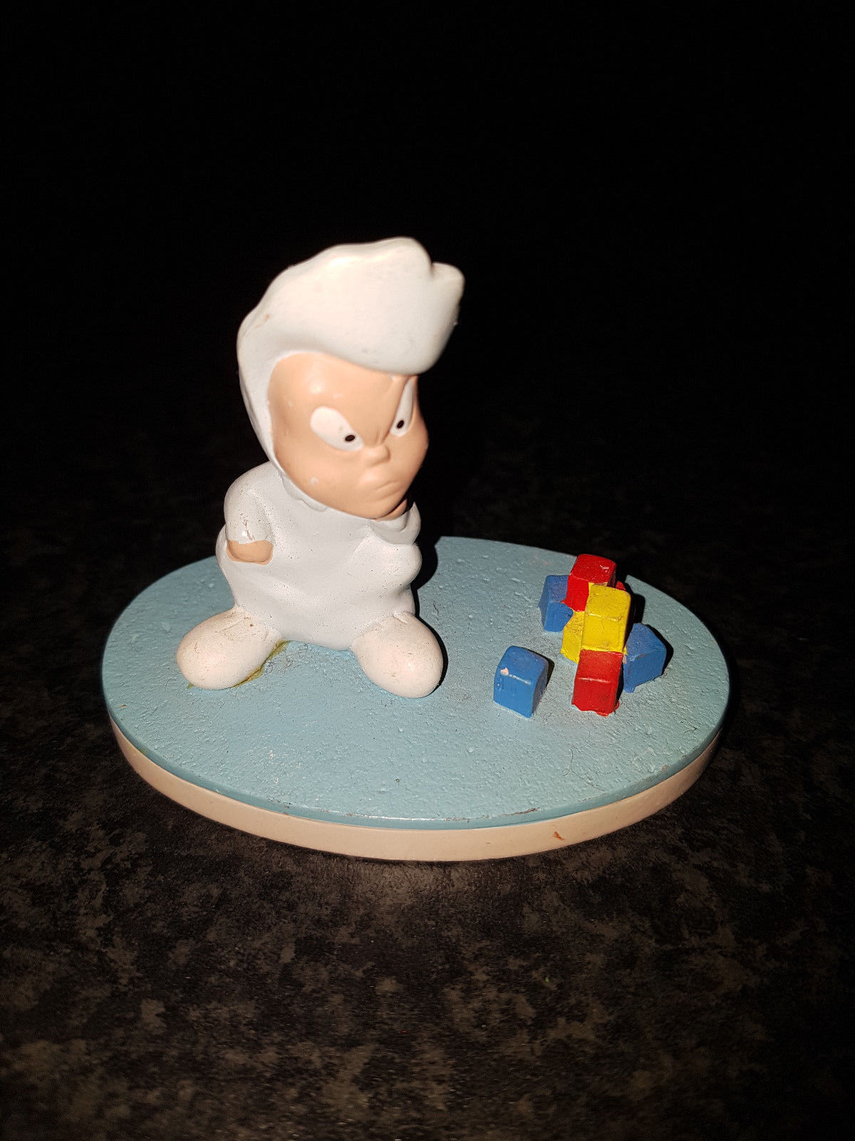 Primary image for Extremely Rare! Looney Tunes Baby Face Finster Small Figurine Statue