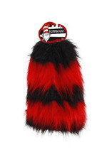 Dr. Seuss Cat In The Hat Costume Fuzzy Leg Warmers, LICENSED Adult NEW U... - $30.72