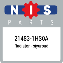 214831HS0A Nissan SHROUD ASSY, New Genuine OEM Part - $51.96