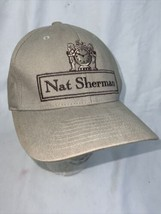 Nat Sherman Classic Light Brown Hat Cap with Flexfit - Dominican Made Ci... - $49.49