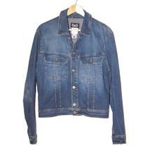 Dolce & Gabbana Blue Cotton Denim Jacket Long Sleeve Button Down Jean Bo... - $153.96