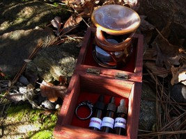 Haunted Djinn summoning binding offering kit complete XXX power - $377.77