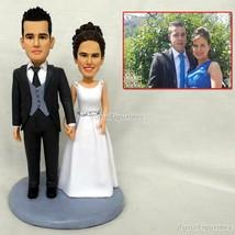 handmade clay figurines wedding cake topper Custom Figurine From Photos ... - $148.00