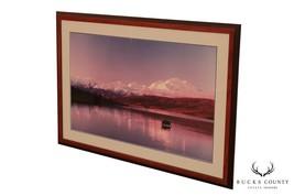 Tony Dawson Artist Signed Alaskan Landscape, Framed Oversize Print - $365.00