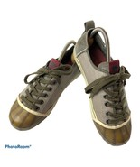SOREL Sentry Canvas Suede Low Top Sneakers Women's 9 US/ 40 EU - $59.00