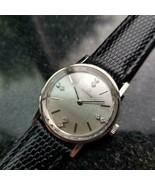 Ladies Omega 27mm 14k White Gold Diamond Dress Watch, c.1970s Swiss LV45... - $2,258.49