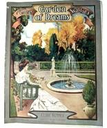 VTG 1908 The Garden of Dreams Waltzes Clare Kummer Starmer Antique Sheet... - $27.58