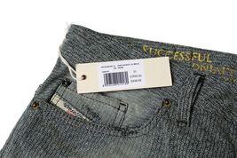 Diesel Men's Premium Denim Regular Slim Straight Designer Jeans Safado 0807M image 6