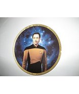 Lieutenant Commander Data Star Trek, The Next Generation Collector Plate - $29.39