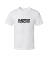 Tolerance And Patience Sht White T Shirt - $17.99 - $19.99