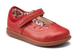 Clarks Girl's Jenna Suzy, Red , Size US 5 M EUR 20.5 M - $29.69
