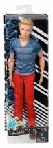 Barbie Fashionistas Ken Doll, Red Jeans and Blue Tee  *NEW* - $45.99