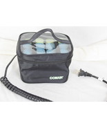 Conair Travel Compact 12 Hot Rollers Curlers in Zipper Case 2 Sizes  - $12.86
