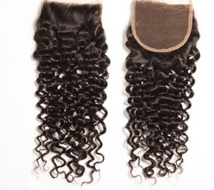 Indian Curly 4 Bundles With Closure - $418.60