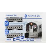 NYC New York City MTA Subway Car Set R160 New w/ Lights & Sound-Tracks D... - $37.57