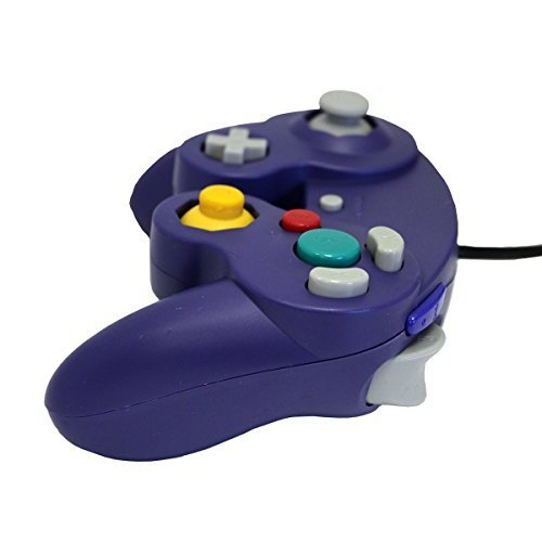 GameCube USB Controller Purple For Windows MAC And Linux By Mars Devices