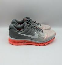 Nike Air Max 2017 Pure Platinum Hot Lava 849560-007 Womens Running Shoe Sz 11 - $135.40