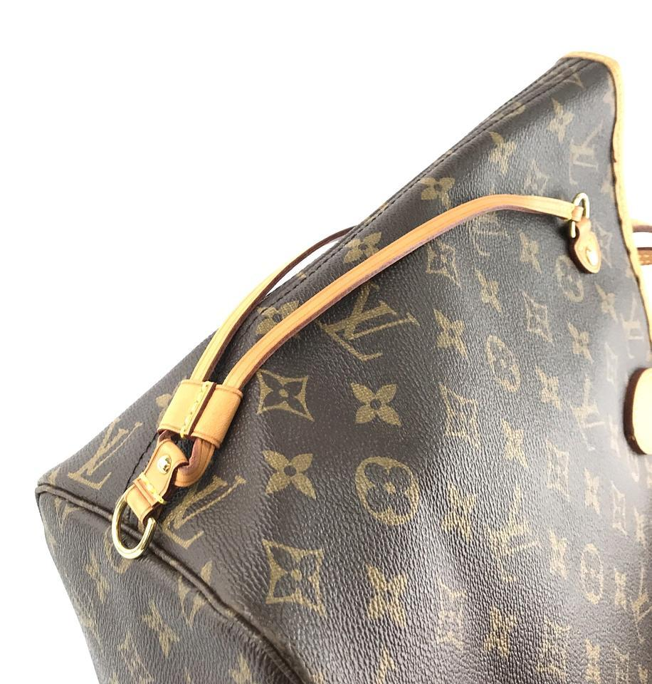 #33306 Louis Vuitton Neverfull Neo New Model Mm Tote Everyday Work Shoulder Bag image 10