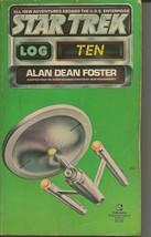 Star Trek Log 10 ORIGINAL Vintage 1978 Paperback Book Ballantine Alan D Foster - $19.79