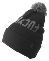 Official Crown of Laurel Black Gray EFFERS Fu$kers Pom Beanie Winter Hat NW
