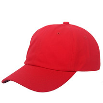 Baseball Cap Adjustable Plain Cap. Polo Style Low Profile Unconstructed ... - $7.80