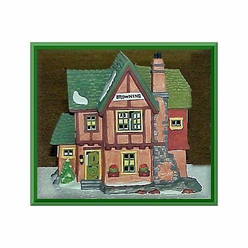 Primary image for Dept 56 Dickens Snow Village  Browning Cottage 58246-2