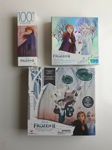"""""""NEW"""" Cardinal Disney Frozen 2 marble frenzy game Bundle with Puzzles - $24.74"""
