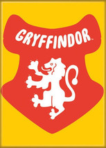 Harry Potter Gryffindor Logo Charms Style Art Image Fridge Magnet NEW UN... - $3.95