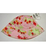 OLD NAVY  NWT INFANT GIRLS HAT 12-24M  PINK FLORAL FLOWERS  NEW 12M 18M ... - $4.94