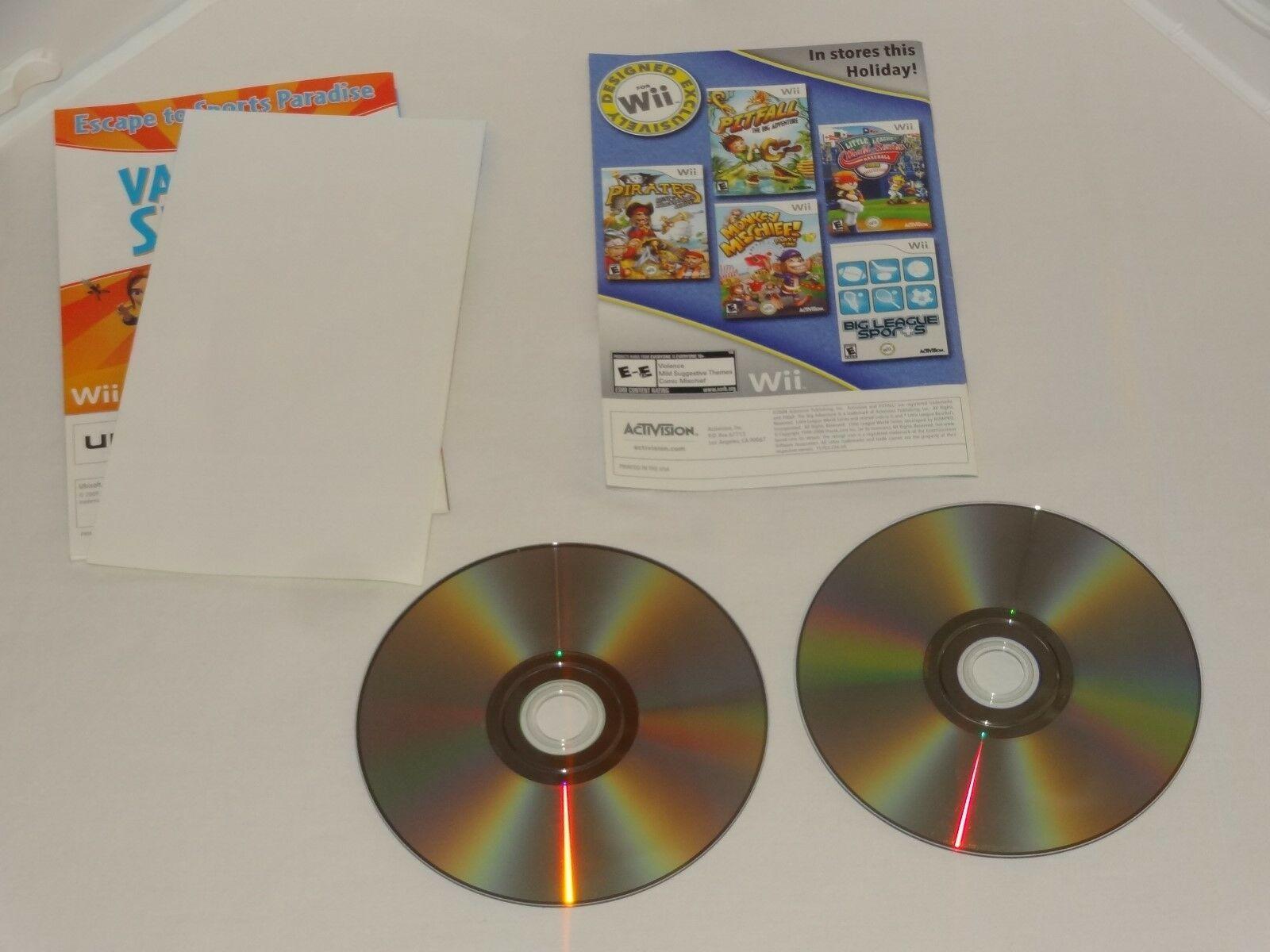 Six Flags Fun Park - Nintendo Wii UBI Soft + Block Party 20 Games Activision image 6