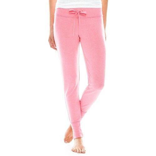 Flirtitude Slim-Fit Sleep Pants Madison Pink Size L New Msrp $30.00 - $11.99