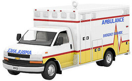 Hallmark  2012 Chevrolet  G4500 Ambulance   Keepsake Ornament 2019 - $19.79