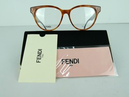 FENDI FF 0164 (VJO) Light Havana / Black  53 x 15 140 mm Eyeglass Frame - $126.19