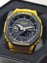 "Casio G-Shock GA2110SU9AER/""CASIOAK""/Yellow - $158.00"