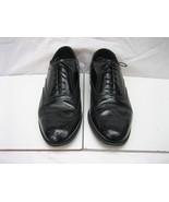 Men's FLORSHEIM Lexington 20381 Black Leather Dress Wing-tip Oxfords, Sz... - $55.00