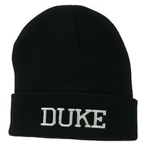 Halloween Character Duke Embroidered Beanie - Black OSFM - $22.65