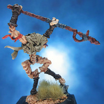 Painted Privateer Press Miniature Darkage Dragyr Slave Spearman II - $37.25