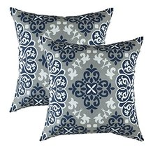 TreeWool 2 Pack Throw Pillow Covers Suzani Accent Decorative Pillowcases... - $16.99