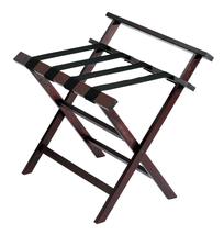 Deluxe Wood Luggage Rack w/ Back - $35.00