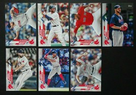 2020 Topps Series 2 Boston Red Sox Base Team Set of 7 Baseball Cards  - $3.99