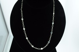 "JOHN HARDY Sterling Silver Circle Dot Necklace (18"") - $250.00"