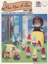 Once Upon a Time Dolls, Mangelsen's Crochet Doll Clothing Pattern Bookle... - $5.95