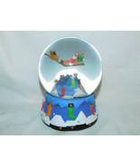 Santa Claus Coming to Town Christmas Musical Box Snow Globe Dept 56 - $10.99