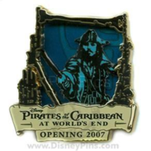 Disney Pin 53418 Pirates of the Caribbean At World's End Opening Jack Sp... - $60.53